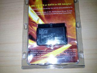 Adaptador puertos IDE-SATA
