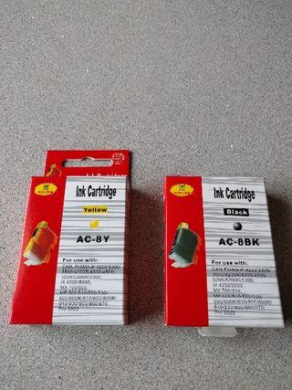 Cartuchos tinta Canon (compatibles)