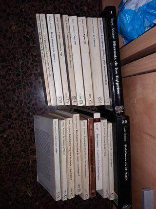 20 libros ciencia Asimov