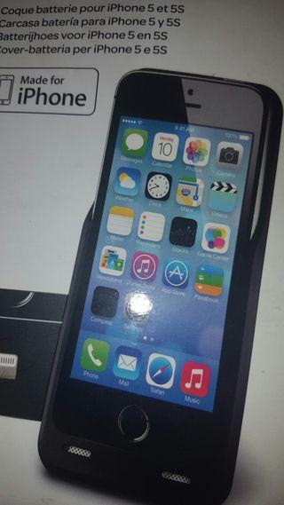 Funda Cargador portátil iPhone 5 y 5S