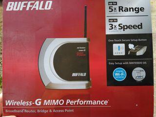 Buffalo Router inalámbrico