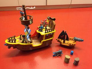 Jake el pirata - barco