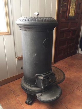 Estufa leña carbón