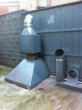 Extractor Campana Industrial