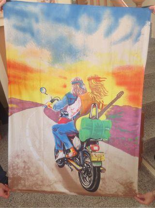 Bandera hippie