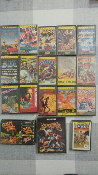 Juegos spectrum sinclair