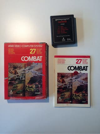 Juego Atari Combat Completo