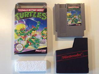 Tortugas Ninja Teenage Mutant Hero Turtles Nintendo Nes