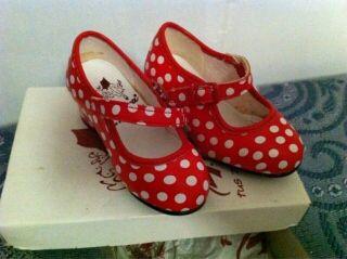 Zapatos niña flamenca