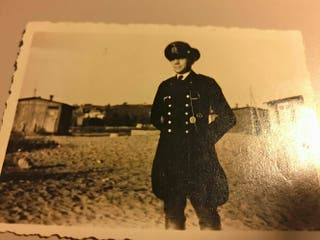 Foto oficial Kriegsmarine submarinos