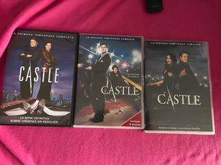 Serie Castle (1,2 y 3 temporada)