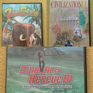 Juegos de ordenador en cd