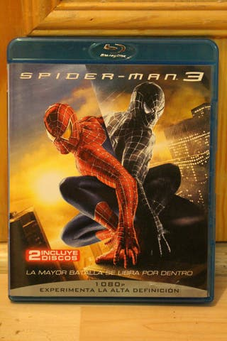 Película Spider-Man 3 (Blu-ray disc)