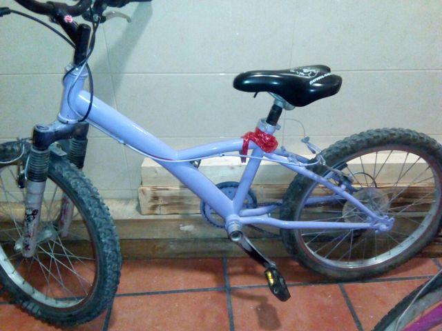 Bicicleta de 20 pulgadas