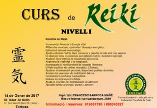 Curs de Reiki a Tortosa