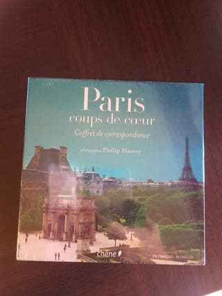Caja regalo postales París