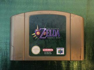 Cartucho Zelda Majora's Mask N64!!