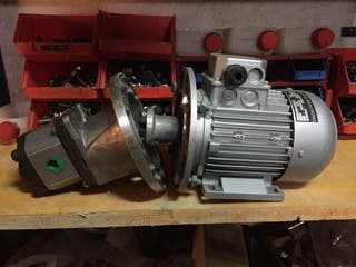 Motor o Bomba de aditivo