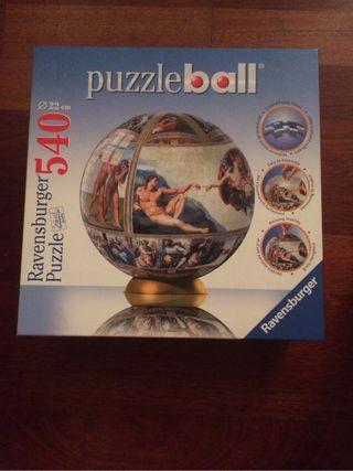 Puzzle ball: Capilla sixtina
