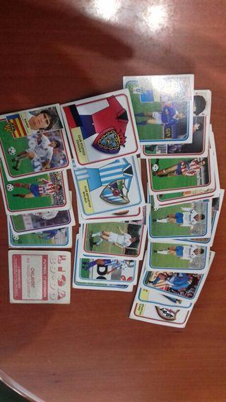 cromos futbol 89-90