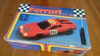 Coche teledirigido vintage Ferrari 512 BB