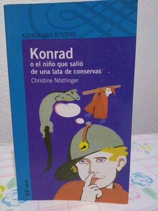 Konrad o el niño que salió de una lata.....