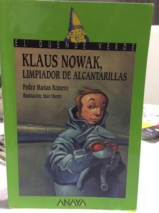 Klaus Nowak, limpiador de...