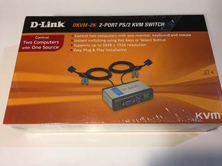 Switch D-LINK DKVM-2K