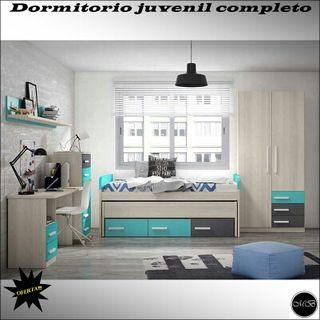 Muebles dormitorio juvenil completo de segunda mano por 1 - Dormitorio juvenil completo ...