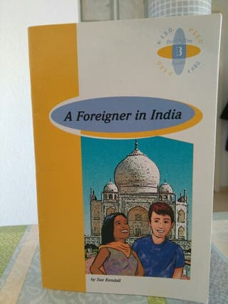 A foreigner in India.