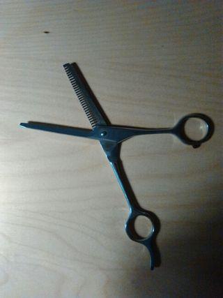 Tiejeras dentadas despuntar cabello