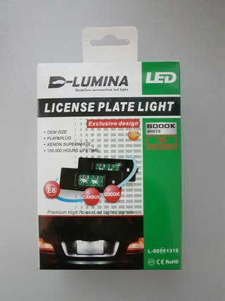 Luz de matricula LED 10W Osram BMW E87, E81, E63..