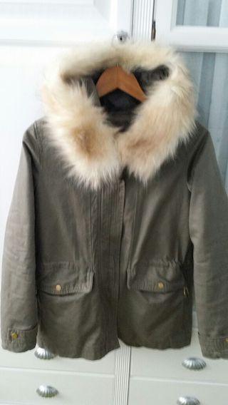 abrigo parka 2 en 1 nuevo