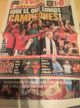 Periodiico MUNDIAL 2010