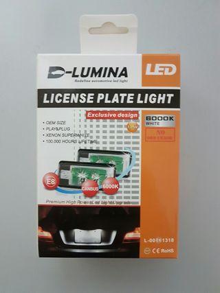 Luz de matricula LED 10W Osram Audi A3, A4, Q7...