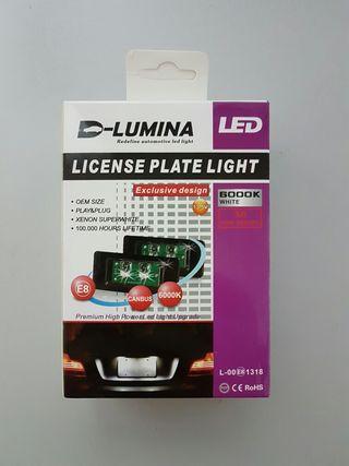 Luz de matricula LED 10W Osram Audi A5, Q5, A1...