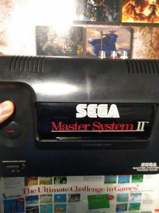 Sega master system 2 con rca