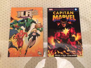 JLA Y Capitan Marvel