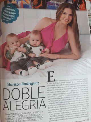 Reportaje de 4 paginas Maritza Rodriguez