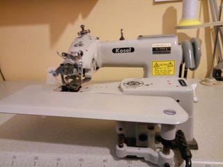 Máquina de coser industrial puntada invisible