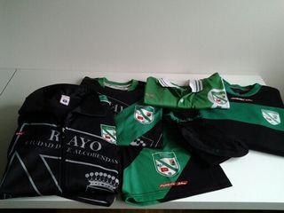 Equipamiento fútbol Rayo Ciudad de Alcobendas