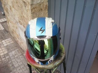 casco integral carbono