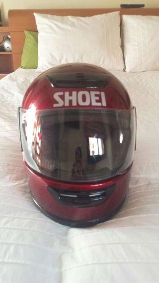 Casco moto Shoei RXR clásico