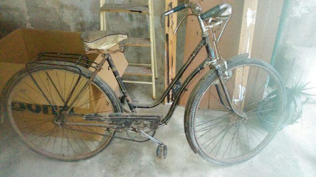 Bicicleta antigua BH frenos de varilla.