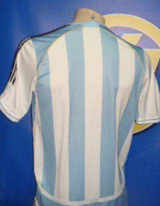 Camiseta de Futbol ARGENTINA-Adidas talla L