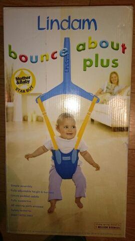 saltador bebé para puerta