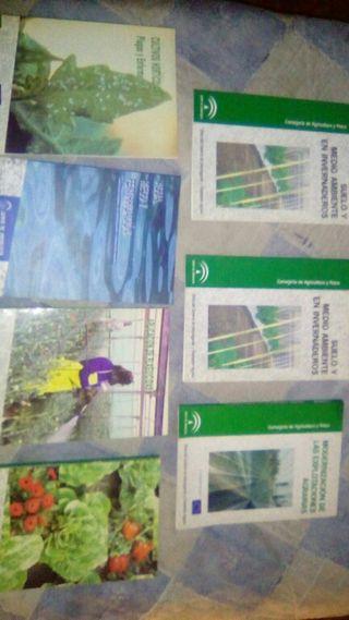 Libros horticultura y formacion agraria