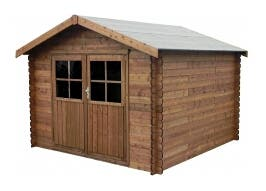 Caseta madera tratada(34mm/300x300cm/8,88 m²)