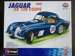 Jaguar XK 120 Coupe 1984, Burago
