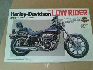 Maqueta Harley Davidson low rider